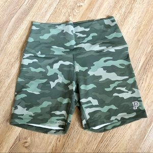 PINK Camo Bike Shorts